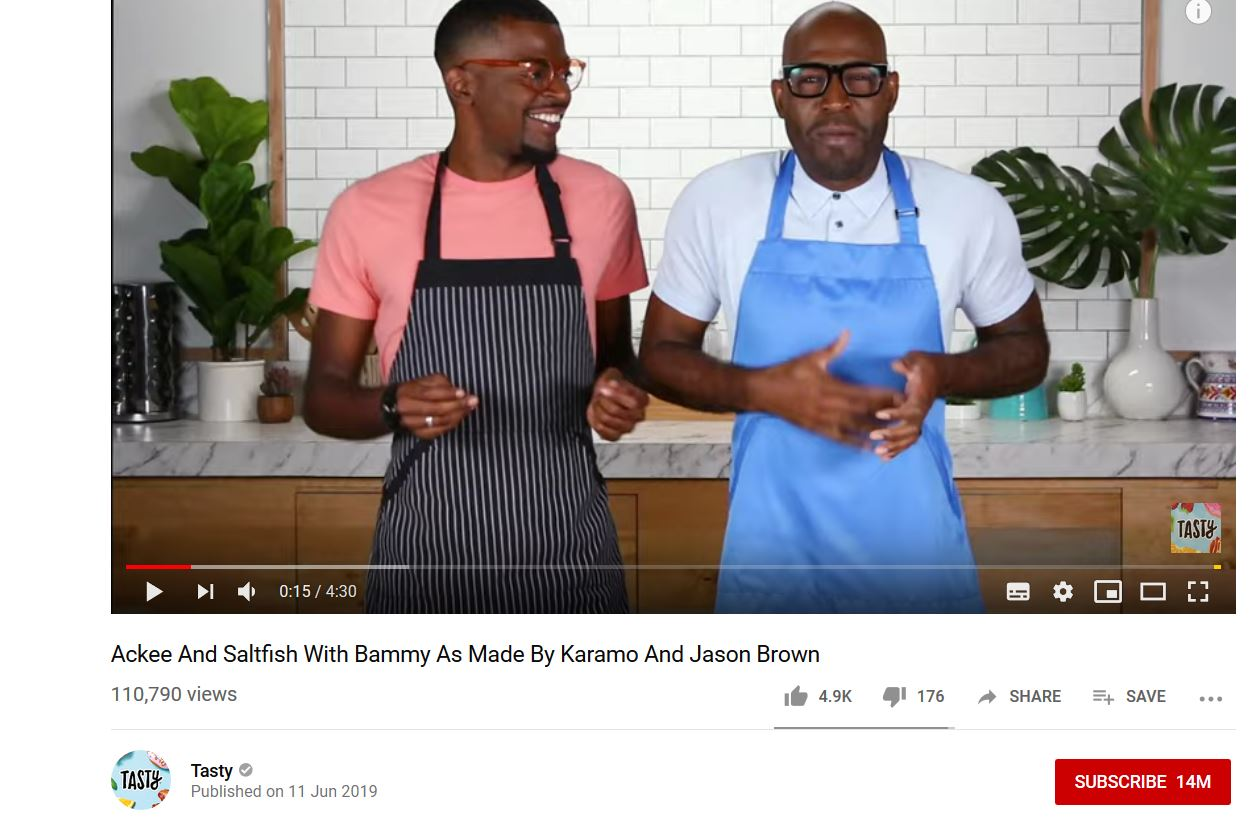 Monetize by selling your food recipes through youtube like Tasty