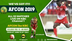 Update on KBC AFCON 2019 Match Fixtures and Timetable for Kenyans football fans