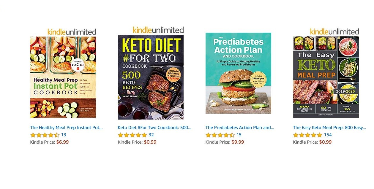 make money by Publishing your recipes as ebooks on kindle