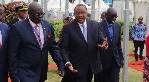 President Uhuru Kenyatta speech the CBC Training Conference at KICC