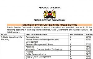 public service commission internship opportunities and how to apply guide