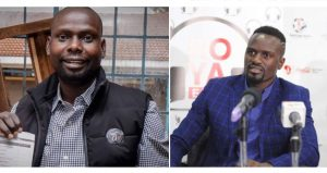 IEBC Kibra By election winner candidates Okoth Bernard Otieno Imran of ODM and McDonald Mariga of Jubilee party