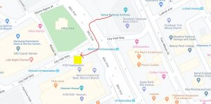 How to get to NTSA offices, Upper Hill from Nairobi CBD by Bus or Matatu