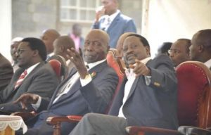 Raila Odinga Statement on the Death of President Daniel Moi