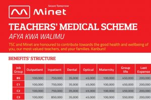 New TSC UoN Minet Medical Insurance Cover Scheme for teachers